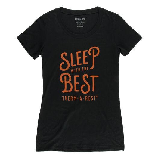 Sleep With The Best Shirt für Damen